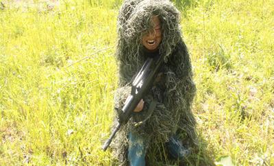 15天军事将帅冬令营-野外探险1